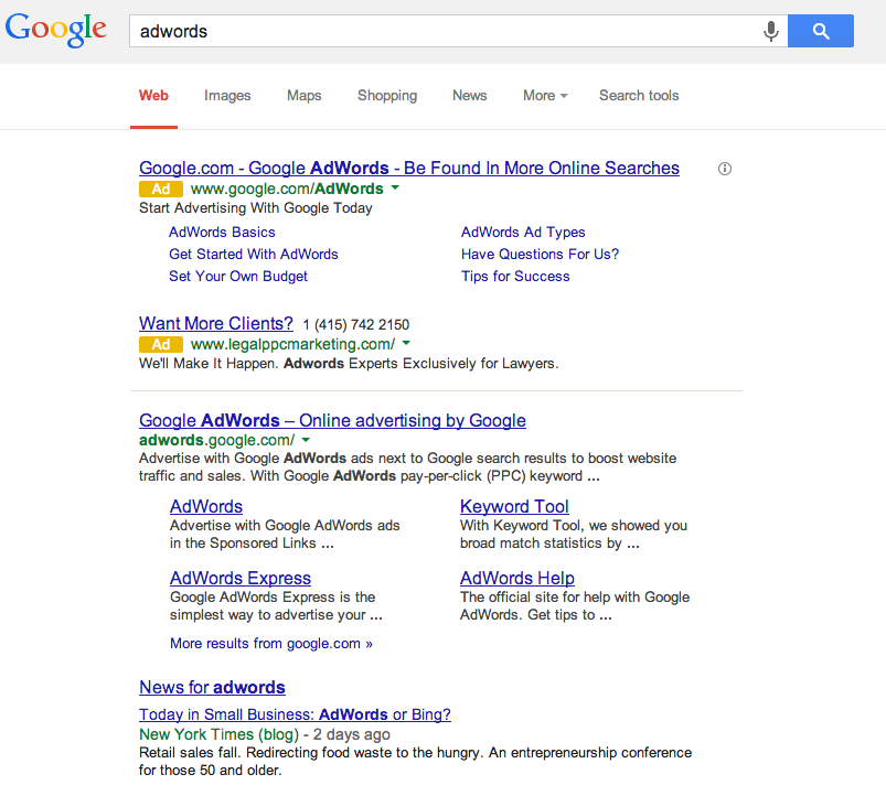 Google's new Adwords PPC Text Ads